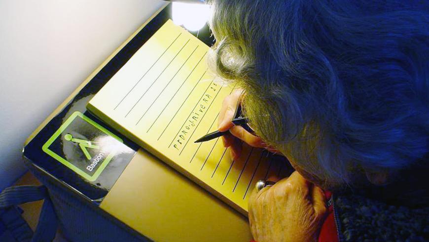 Curso de rehabilitación visual para pacientes con baja visión
